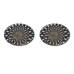 Art-Rings-864831 Cufflinks (Oval)