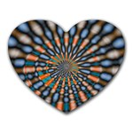 Art-Rings-864831 Mousepad (Heart)