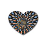Art-Rings-864831 Rubber Coaster (Heart)