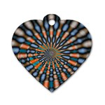 Art-Rings-864831 Dog Tag Heart (One Side)