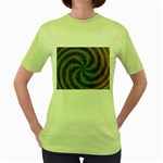 compacta_2-137907 Women s Green T-Shirt
