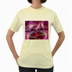 color-galaxy-323371 Women s Yellow T-Shirt