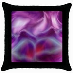 color-galaxy-323371 Throw Pillow Case (Black)