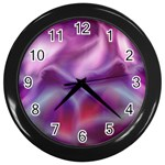color-galaxy-323371 Wall Clock (Black)
