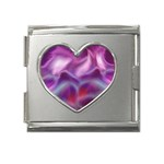 color-galaxy-323371 Mega Link Heart Italian Charm (18mm)