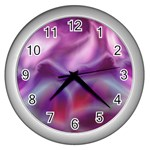 color-galaxy-323371 Wall Clock (Silver)