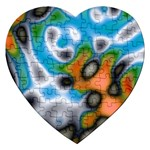 Color_Magma-559871 Jigsaw Puzzle (Heart)