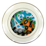 Color_Magma-559871 Porcelain Plate