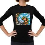 Color_Magma-559871 Women s Long Sleeve Dark T-Shirt
