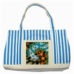 Color_Magma-559871 Striped Blue Tote Bag