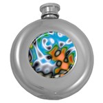 Color_Magma-559871 Hip Flask (5 oz)