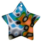 Color_Magma-559871 Star Ornament (Two Sides)
