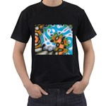 Color_Magma-559871 Black T-Shirt