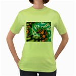 Color_Magma-559871 Women s Green T-Shirt