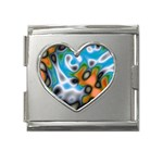 Color_Magma-559871 Mega Link Heart Italian Charm (18mm)