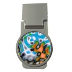 Color_Magma-559871 Money Clip (Round)