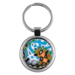 Color_Magma-559871 Key Chain (Round)