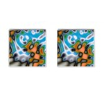 Color_Magma-559871 Cufflinks (Square)