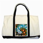 Color_Magma-559871 Two Tone Tote Bag