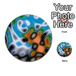 Color_Magma-559871 Multi-purpose Cards (Round)