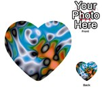 Color_Magma-559871 Multi-purpose Cards (Heart)