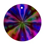 Bounty_Flower-161945 Round Ornament (Two Sides)