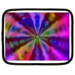 Bounty_Flower-161945 Netbook Case (Large)