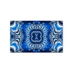 bluerings-185954 Sticker (Rectangular)