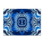 bluerings-185954 Sticker (A4)