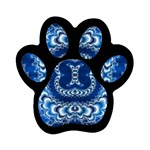 bluerings-185954 Magnet (Paw Print)