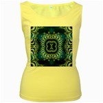 bluerings-185954 Women s Yellow Tank Top
