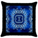 bluerings-185954 Throw Pillow Case (Black)