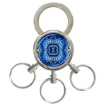 bluerings-185954 3-Ring Key Chain