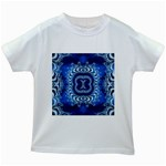 bluerings-185954 Kids White T-Shirt