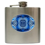 bluerings-185954 Hip Flask (6 oz)