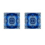 bluerings-185954 Cufflinks (Square)