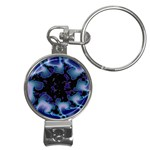 blue%20design%20wave%202-662985 Nail Clippers Key Chain