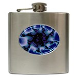blue%20design%20wave%202-662985 Hip Flask (6 oz)