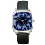 blue%20design%20wave%202-662985 Square Metal Watch