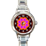 Astral-Reflection-03-515417 Round Italian Charm Watch