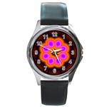 Astral-Reflection-03-515417 Round Metal Watch