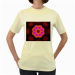 Astral-Reflection-03-515417 Women s Yellow T-Shirt