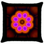 Astral-Reflection-03-515417 Throw Pillow Case (Black)