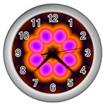 Astral-Reflection-03-515417 Wall Clock (Silver)