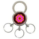 Astral-Reflection-03-515417 3-Ring Key Chain