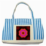 Astral-Reflection-03-515417 Striped Blue Tote Bag