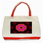 Astral-Reflection-03-515417 Classic Tote Bag (Red)