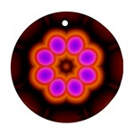 Astral-Reflection-03-515417 Round Ornament (Two Sides)