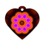 Astral-Reflection-03-515417 Dog Tag Heart (One Side)