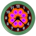 Astral-Reflection-03-515417 Color Wall Clock